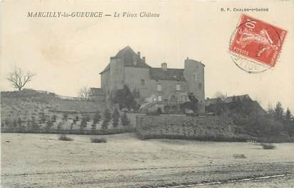 """CPA FRANCE 71 """"Marcilly-la-Gueurce, Le Vieux Château"""""""