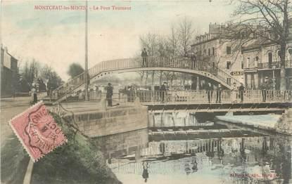 """CPA FRANCE 71 """"Montceau-les-Mines, Le Pont Tournant"""""""