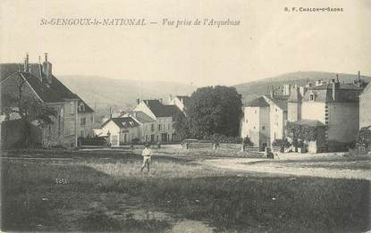 """CPA FRANCE 71 """"St-Gengoux-le-National, Vue prise de l'Arquebuse"""""""