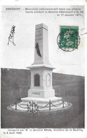 """CPA FRANCE 70 """"Héricourt, Monument aux Morts"""""""