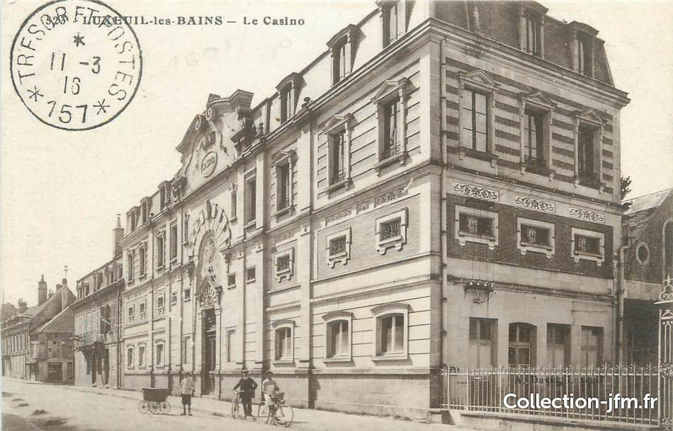 ADRESSE CASINO LUXEUIL LES BAINS
