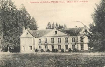 """CPA FRANCE 61 """"Environs de Moulins-la-Marche, Château de la Clochetière"""""""