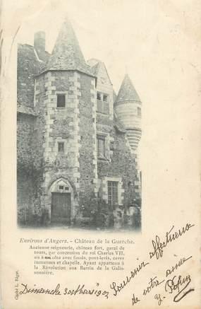"""CPA FRANCE 49 """"Environs d'Angers, Château de la Guerche"""""""