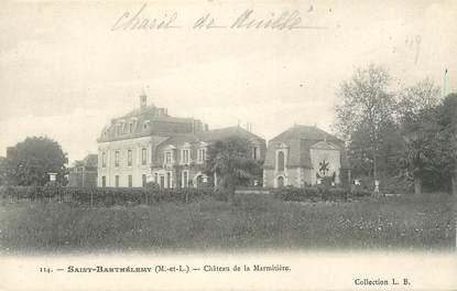 """CPA FRANCE 49 """"St Barthélemy, Chateau de la Marmitière"""""""