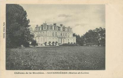 """CPA FRANCE 49 """"Savennières, Chateau de la Bizolière"""""""