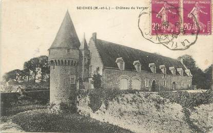 "CPA FRANCE 49 ""Seiches, Chateau du Verger"""