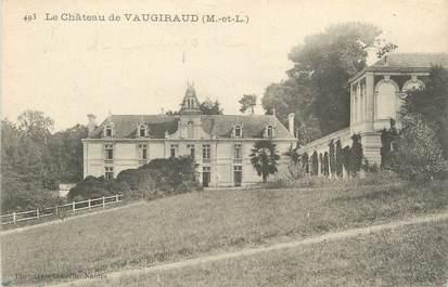 "CPA FRANCE 49 ""Chateau de Vaugiraud"""