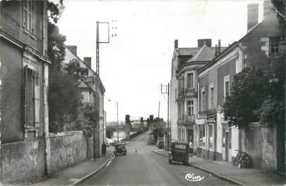 """CPSM FRANCE 49 """"Ingrandes sur Loire, Rue du Pont vers la Loire"""""""