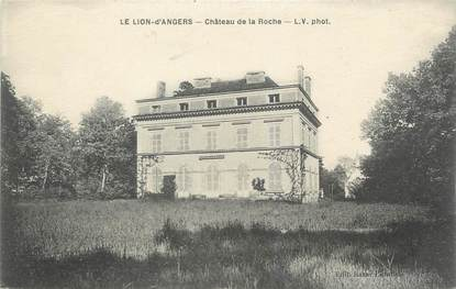 "CPA FRANCE 49 ""Le Lion d'Angers, Chateau de la Roche"""