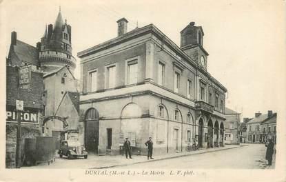 """CPA FRANCE 49 """"Durtal, Mairie"""""""