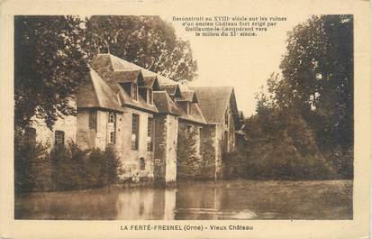 """CPA FRANCE 61 """"La Ferté Fresnel, Vieux Chateau"""""""