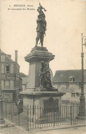 """CPA FRANCE 61 """"Briouze, Monument aux Morts"""""""