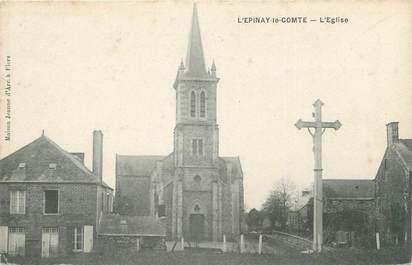 """CPA FRANCE 61 """"L'Epinay le Comte, l'Eglise"""""""