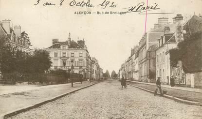 "CPA FRANCE 61 "" Alencon, Rue de Bretagne """