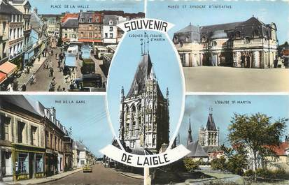 """CPA FRANCE 61 """" Laigle, Souvenir """""""