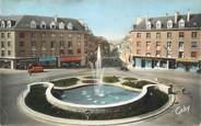 """61 Orne CPSM FRANCE 61 """" Flers, Place Centrale et Rue du Juin """""""