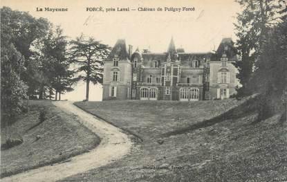 "CPA FRANCE 53 ""Forcé, Chateau de Poligny Forcé"""