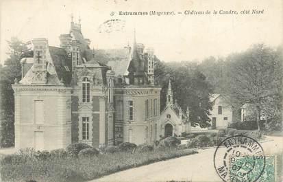"""CPA FRANCE 53 """"Entrammes, Chateau de la Coudre"""""""