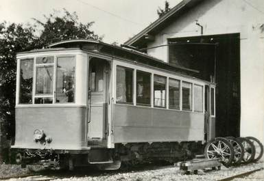 """CPSM SUISSE """"Gland"""" TRAIN / TRAMWAY"""