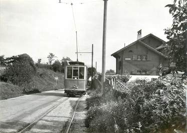 "CPSM SUISSE ""Vich"" TRAIN / TRAMWAY"