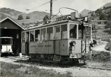 """CPSM SUISSE """"Fontanivent"""" TRAIN / TRAMWAY"""