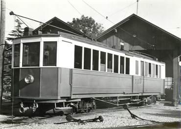 """CPSM SUISSE """"Aubonne"""" TRAIN / TRAMWAY"""
