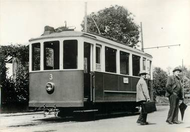 "CPSM SUISSE ""Allaman"" TRAIN / TRAMWAY"
