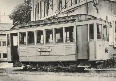 "CPSM SUISSE ""Gimel"" TRAIN / TRAMWAY"