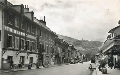 """CPSM FRANCE 73 """"Aiguebelle, Hotel de la Poste"""""""
