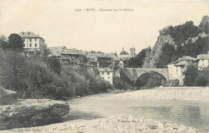 """CPA FRANCE 73 """"Alby, Quartier sur le Chéran"""""""