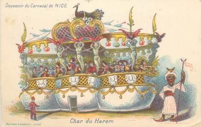 """CPA FRANCE 06 """"Nice, Carnaval, Harem"""""""