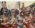 """Afrique CPSM DJIBOUTI """"Danse du couteau"""""""