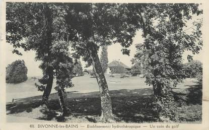 "CPA FRANCE 01 ""Divonne les Bains, Golf"""