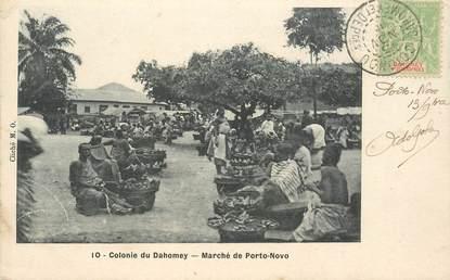 """CPA DAHOMEY """"Marché de Porto Novo"""""""
