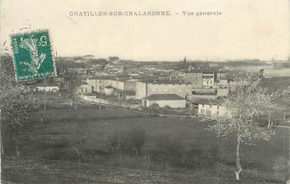 "CPA FRANCE 01 ""Chatillon sur Chalaronne"""