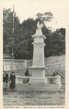 """CPA FRANCE 01 """"Trévoux, Monument aux Morts"""""""