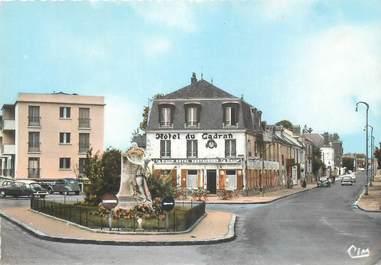 "CPSM FRANCE 91 ""Longjumeau, Place Charles Steber"""