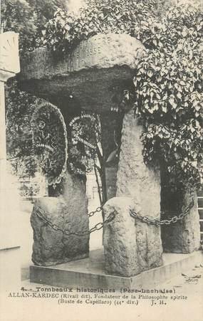 "CPA FRANCE 75 ""Paris 20ème, Tombeau de Allan-Kardec, Spiritisme"""