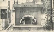 """75 Pari CPA FRANCE 75 """"Paris 20ème, Tombeau de Sarah Bernhardt"""""""