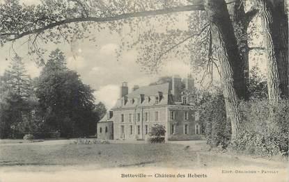 """CPA FRANCE 76 """"Betteville, Chateau des Heberts"""""""