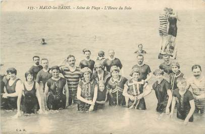 "CPA FRANCE 59 ""Malo les Bains, Plage"""
