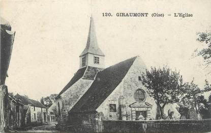 "CPA FRANCE 60 ""Giraumont, Eglise"""