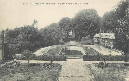 cpa france 80 villers bretonneux chateau mlle dieu le. Black Bedroom Furniture Sets. Home Design Ideas