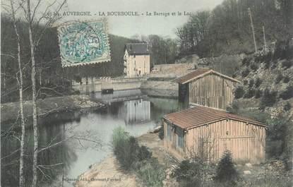 """CPA FRANCE 63 """"La Bourboule, Barrage et Lac"""""""