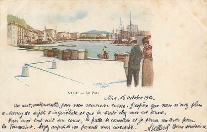 "CPA FRANCE 06 ""Nice, le Port"" / ILLUSTRÉE"