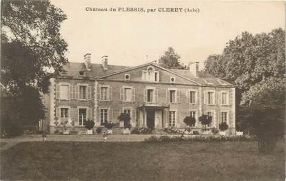 "CPA FRANCE 10 ""Clerey, Chateau du Plessis"""