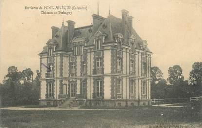 """CPA FRANCE 14 """"Pont L'Eveque, Chateau de Pethagny"""""""