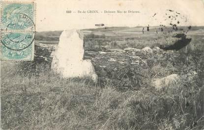 """CPA FRANCE 56 """"Ile de Groix, Dolmen Mezier Driazeu"""""""