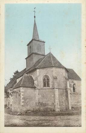 """CPA FRANCE 58 """"St Martin d'Heuille, Eglise"""""""