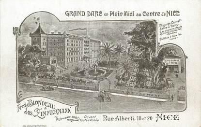 "CPA FRANCE 06 ""Nice, Hotel du Parc, Rue Alberti"""